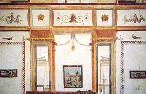 Domus Aurea - The style of wall paintings in Domus Aurea inspired Raphael's Vatican ''Stanze'' and 18th-century Neoclassicism alike.
