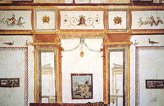 Domus Aurea - The style of wall paintings in Domus Aurea inspired Raphael's Vatican Stanze and 18th-century Neoclassicism alike.