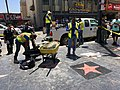 Donald Trump's Hollywood Walk of Fame Star being repaired.jpg