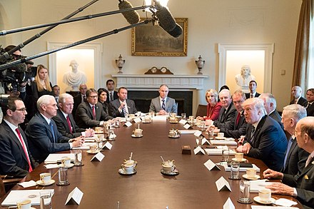 Cabinet meeting, March 2017 Donald Trump Cabinet meeting 2017-03-13 04.jpg