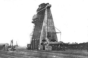 Doncaster Carr rail depot - Image: Doncaster coaling plant (CJ Allen, Steel Highway, 1928)