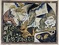 Douce Apocalypse - Bodleian Ms180 - p.085 Dracon enchained.jpg