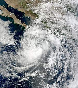 2008 Pacific hurricane season - Image: Douglas Jul 2 2008 1800Z