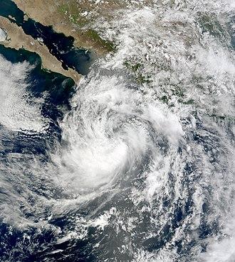 2008 Pacific hurricane season - Image: Douglas Jul 2 2008 1800Z