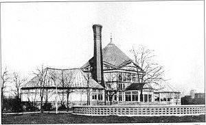 Douglas Park (Chicago) - Image: Douglas Park Greenhouse