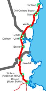 Amtrak Maine Map.Railroad History Of Portland Maine Wikipedia