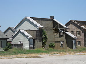 Downey Studios - Rear of facade