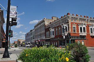 Leavenworth, Kansas City and County seat in Kansas, United States