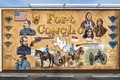 Downtown mural celebrating old Fort Concho in San Angelo, the seat of Tom Green County, Texas LCCN2014631389.tif