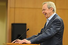 Dr. Charles Stanley, the senior pastor of First Baptist Church, and founder of In Touch Ministries, thanks U.S. Soldiers and their families for their service to the nation during his inspirational speech at 131106-A-PP444-045.jpg