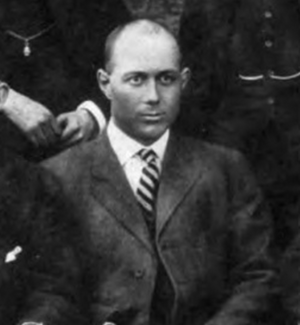 W. Rice Warren - Warren pictured in Corks and Curls 1915, Virginia yearbook