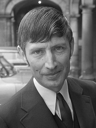 Dries van Agt - Dries van Agt as Minister of Justice in 1971.