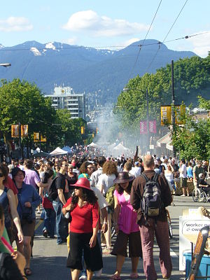Commercial Drive, Vancouver - Image: Drive Days, Commercial Drive,Vancouver, BC, Jun 2008