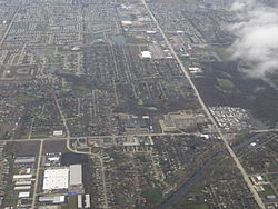 2013 aerial photograph of Shorewood