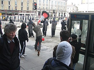2006 in Ireland - Riots occurred on the streets of Dublin in February.