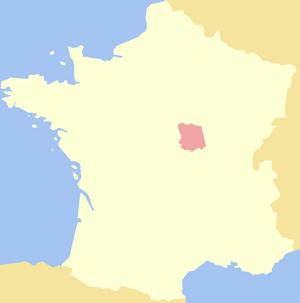 Nivernais - Image: Duchy of Nivernais