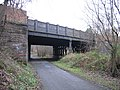 Dumbarton Road bridge, Rothesay Dock branch, Yoker - geograph.org.uk - 987589.jpg