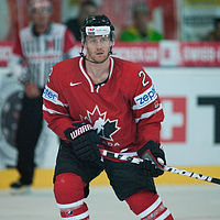 Duncan Keith - Switzerland vs. Canada, 29th April 2012-2.jpg