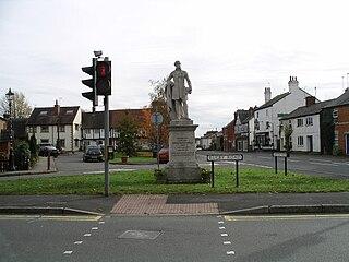 Dunchurch village in United Kingdom