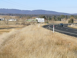 Dundee, New South Wales - New England Highway, Dundee
