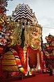 Durga Puja Pandal - Tridhara Sammilani - Manohar Pukur Road - Kolkata 2014-10-02 9057.JPG