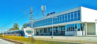Terespol - Image: Dworzec PKP w Terespolu