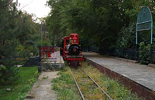Alma-Ata Childrens Railway