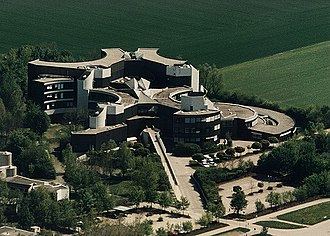 European Southern Observatory - A Bird's-eye View of ESO headquarters in 2014
