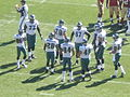 Eagles in huddle at Philadelphia at SF 10-12-08 2.JPG
