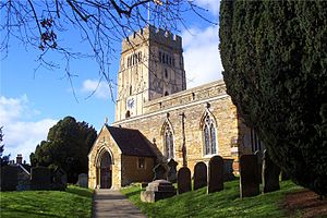 Earls Barton - Image: Earls Barton parish church, Northamptonshire, UK