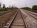 East Coast Main Line at Arlesey foot crossing - geograph.org.uk - 1309716.jpg