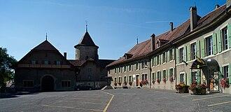 Échallens - Échallens Castle