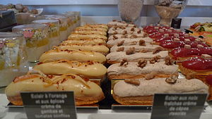 Éclair - Éclairs at Fauchon in Paris