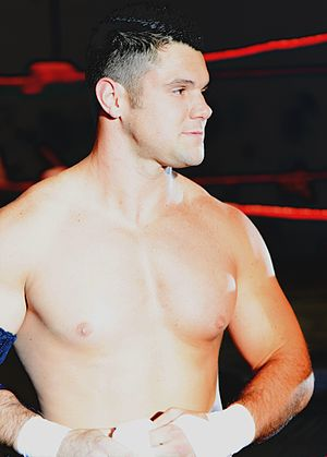 Eddie Edwards (wrestler) - Edwards at a Ring of Honor show on August 2011