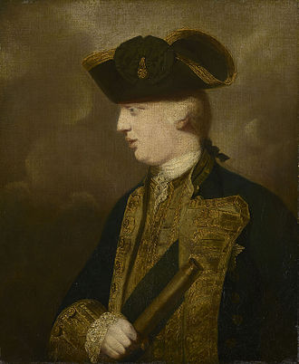 Prince Edward, Duke of York and Albany - The Duke of York and Albany, 1763, as painted by Sir Joshua Reynolds.