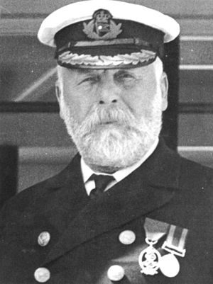 English: Captain Smith of the Titanic. This ph...