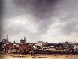 Egbert van der Poel: A View of Delft after the Explosion of 1654