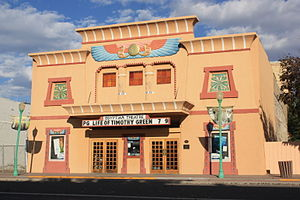 National Register of Historic Places listings in Delta County, Colorado - Image: Egyptian Theatre on Main St, Delta, Colorado