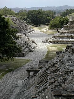 archaeological site in Mexico