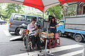 Electonic Guitar Player Take a Rest in Event 20150613.jpg