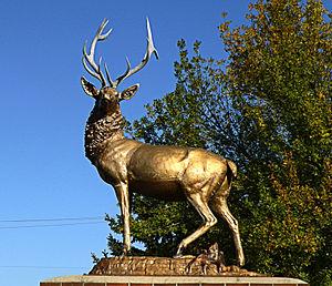 Elk (Milwaukee sculpture) - Image: Elk 1901