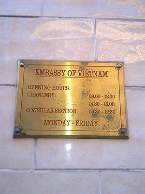 Embassy of Vietnam, London - Image: Embassy of Vietnam in London 2