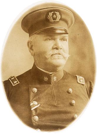 Emil Körner - Emil Körner in the uniform of the Chilean Army