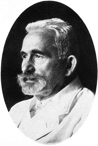Dementia praecox - Emil Kraepelin c. 1920.