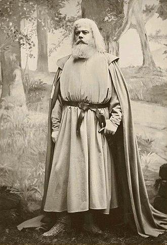 Parsifal - Emil Scaria as Gurnemanz, 1883