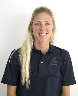 Emilia Fahlin Swedish road racing cyclist