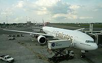 A6-ECN - B77W - Emirates