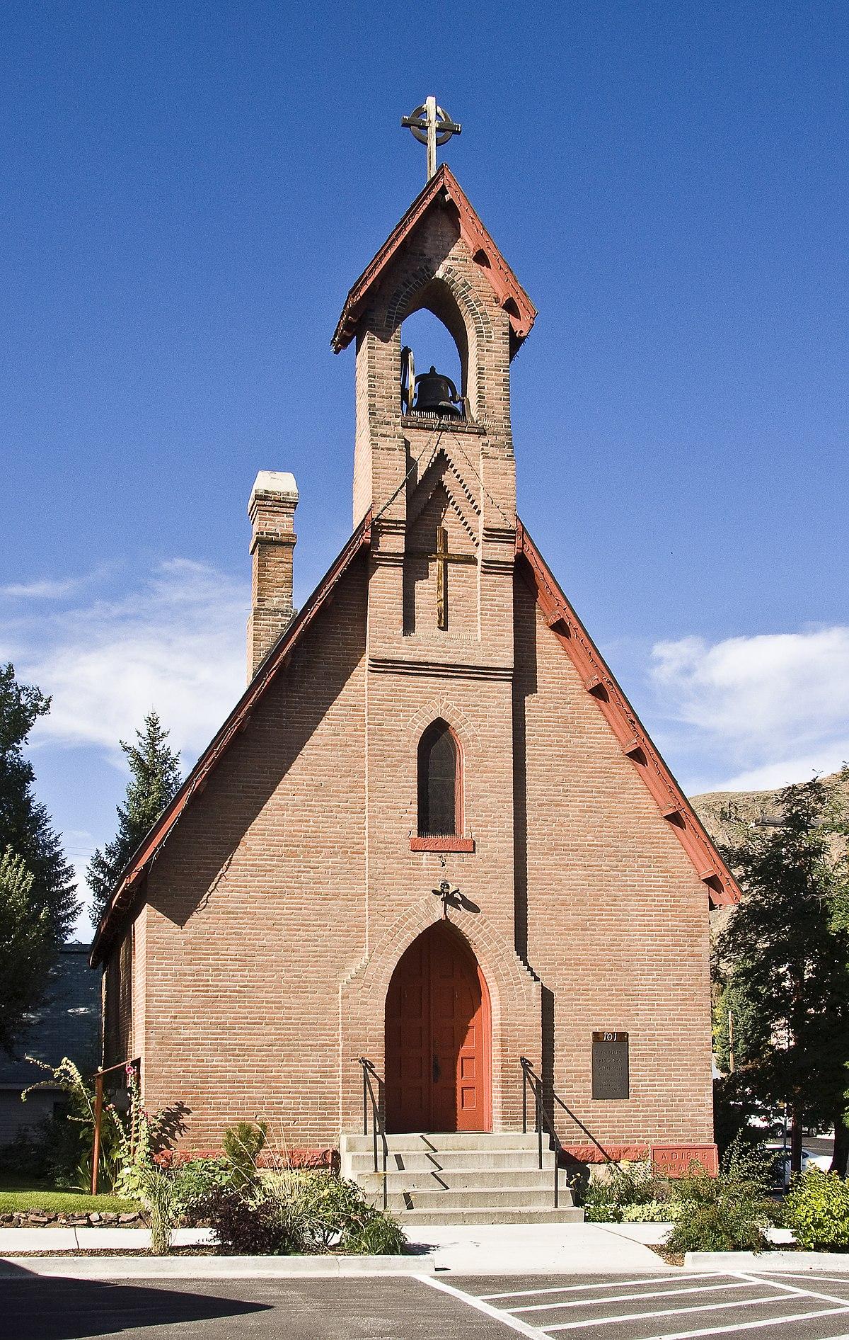 Emmanuel Episcopal Church Hailey Idaho Wikipedia