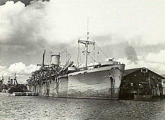 HMS Empire Spearhead - Image: Empire Spearhead 081455