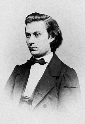 Julius Röntgen - Engelbert Röntgen, father of composer, in 1870